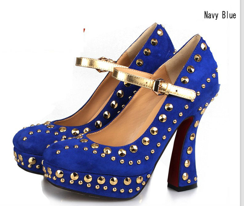 REGALOS DE REYES PARA LOS FORER@S... Blue_elegant_women_s_dress_shoes_sexy_rivets_high_heel_shoes