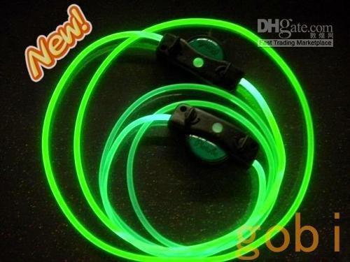 cari tali sepatu nyala Light-shoelace-hip-hop-shoelace-mixedlot-50pairs-lot-Green-LED-shoelace