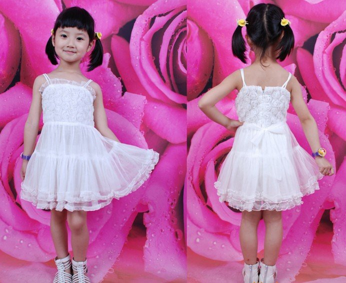 فساتين زفاف للبنوتات New-arrival-free-shipment-children-dance-dress-flower-girls-dresses-children-party-dress-children-one-piece