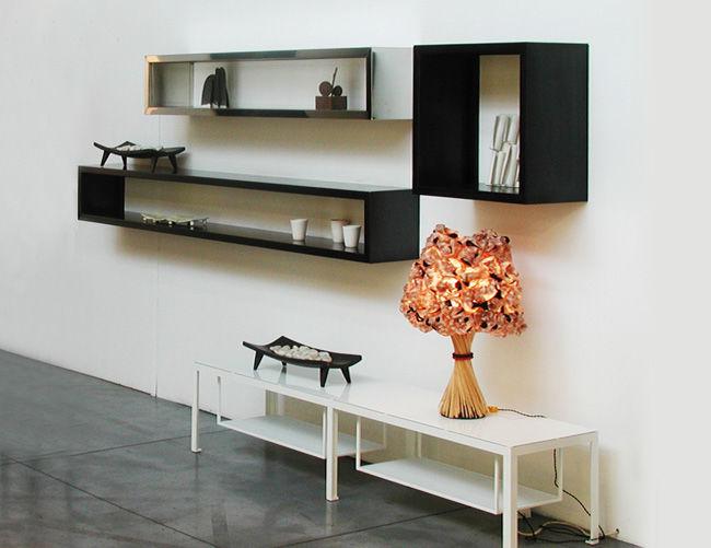 projet d'étagères (livres), fixations invisibles Etagere-contemporaine-murale-metal-9182-5910961