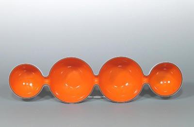 Tri-Laminated Mod / Atomic Lobed Condiment Dish (Vintage ?) 888478270_o