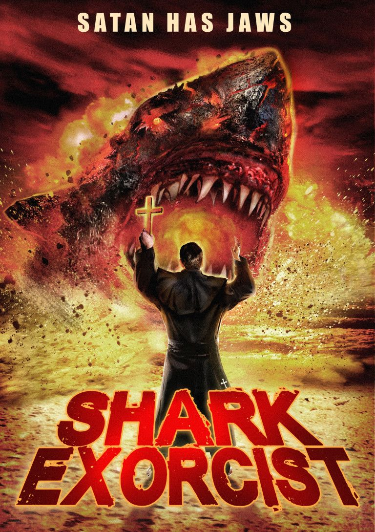 El topic de las pelis de tiburones - Página 3 Shark-exorcist