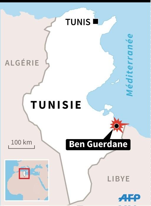 Armée Tunisienne / Tunisian Armed Forces / القوات المسلحة التونسية - Page 6 Carte-Tunisie-localisant-Ben-Guerdane-affrontements-entre-extremistes-forces-ordre-fait-plusieurs-dizaines-morts-7-mars-2016_1_600_696