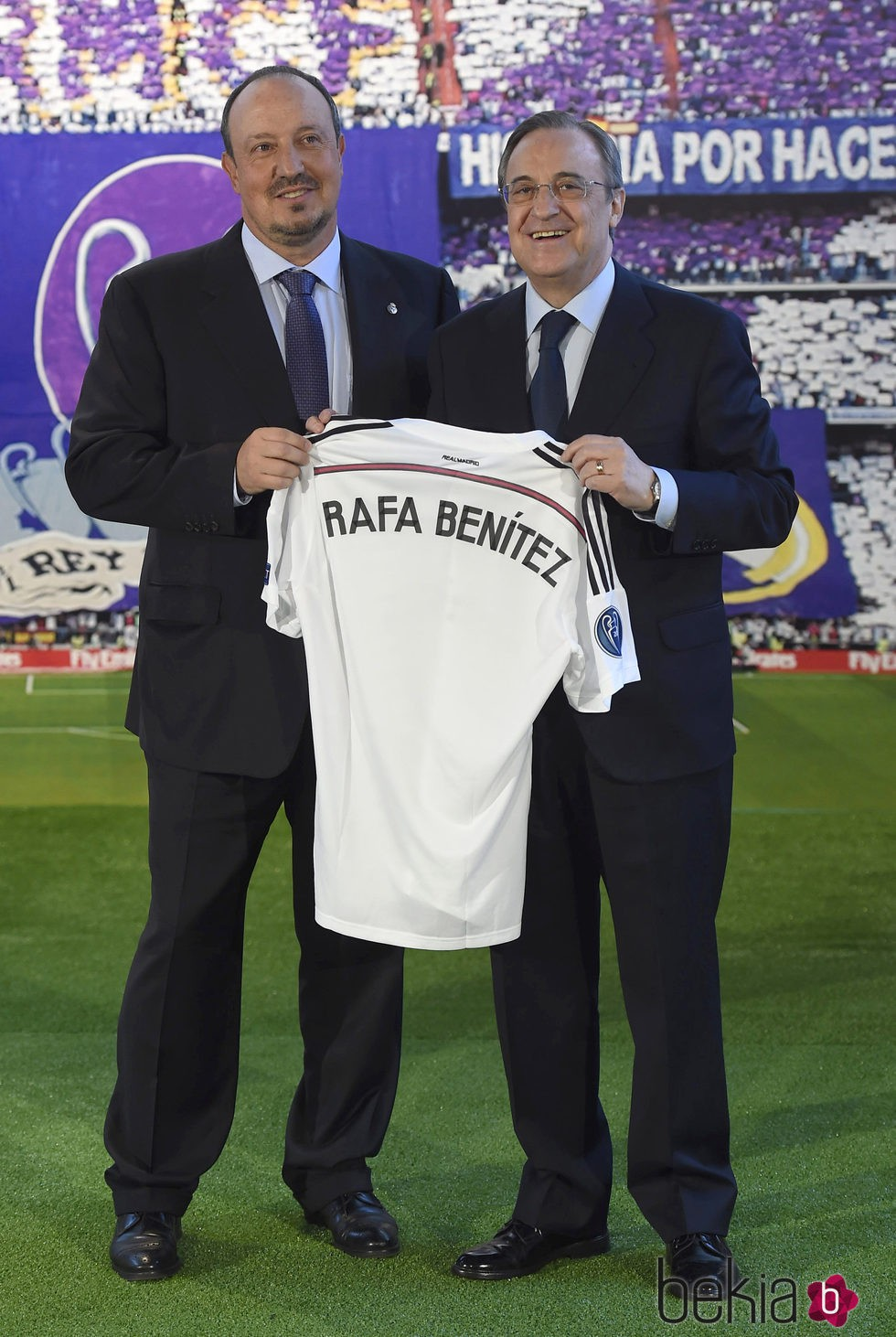 ¿Cuánto mide Rafa Benítez? - Altura - Real height 76251_rafa-benitez-florentino-perez-presentacion-entrenador-real-madrid