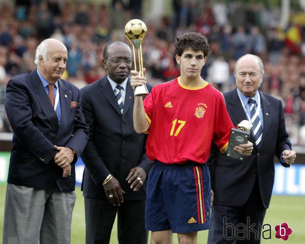 ¿Cuánto mide Cesc Fàbregas? - Altura - Real height 88529_cesc-fabregas-copa-plata-mundial-sub-17-2003