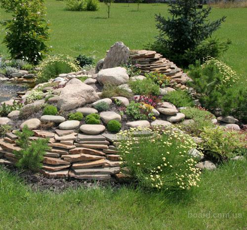 Идеи для дачи из камней 0-landshaftnyij-dizajn