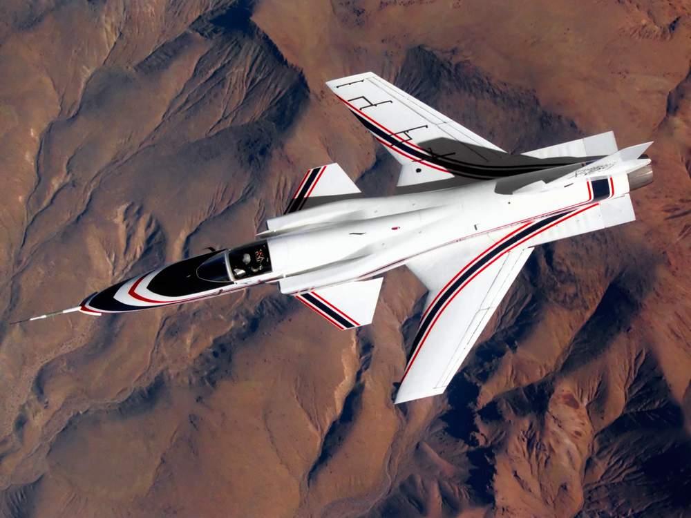 CAPITAL: 10 engins volants qui ont marqué l'histoire Grumman-x-29-les-ailes-inversees