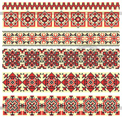 Схемы вышивки - Страница 2 3271102-cross-stitch-ethnic-ukraine-pattern-