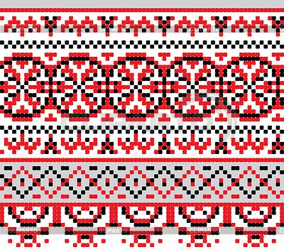 Схемы вышивки - Страница 2 3311141-ukrainian-national-pattern-cross-stitch-background