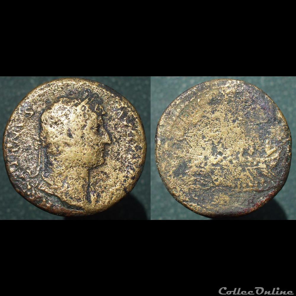 Dupondius très très léger d'Hadrien 2df3f37628af420ca65c5920ca26dc85