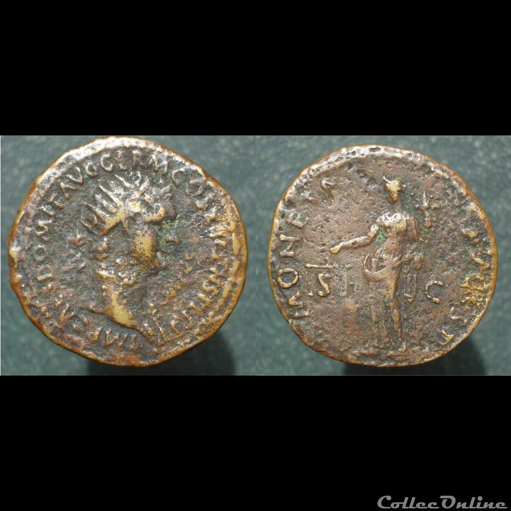 Sesterce de Vespasien 3abaa95fbdec4dad97e5746a01cd8366