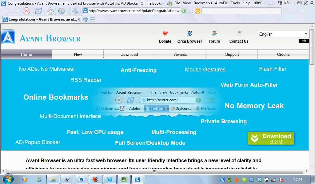 Avant Browser 2014 Build 5 LargeImg