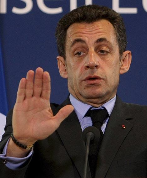 NICOLAS SARKOZY - French president NicolasSarkozyEPA_468x568