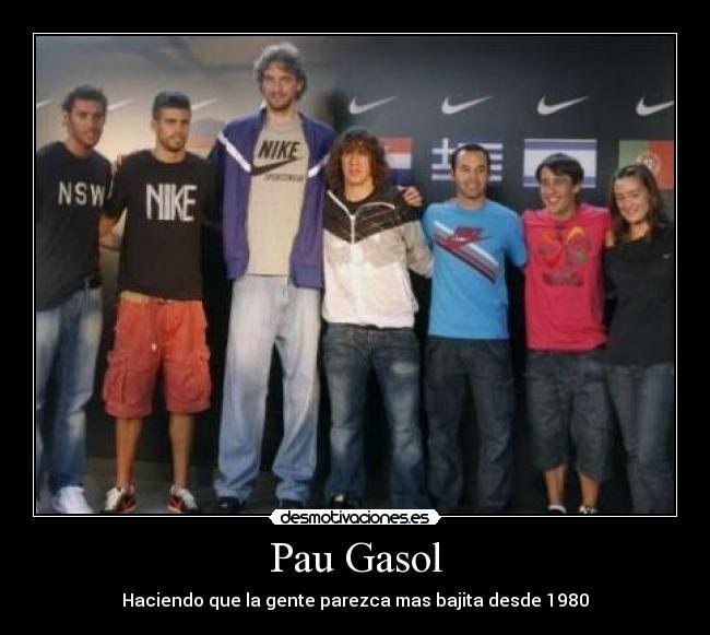 ¿Cuánto mide Pau Gasol? - Estatura y peso - Real height Dibujo_2374