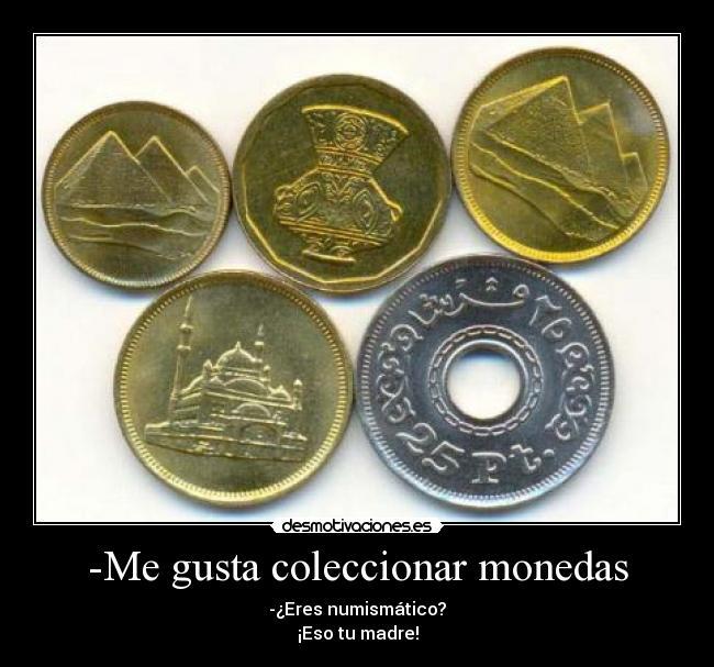 Chistes numismáticos Numismtica