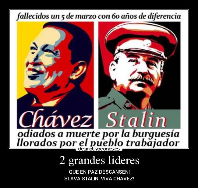 Se conmemoran tres años de la muerte de Hugo Chávez 2grandeslideres