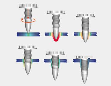 Barre stabilisatrice avant Vis-toles-minces-18890-5951519