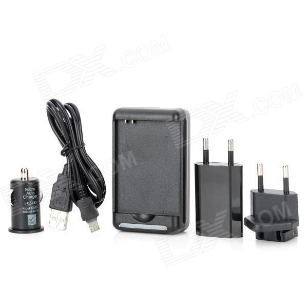 5-in-1 USB AC nabíječka + nabíječka + adaptér + nabíječka Sku_203568_1