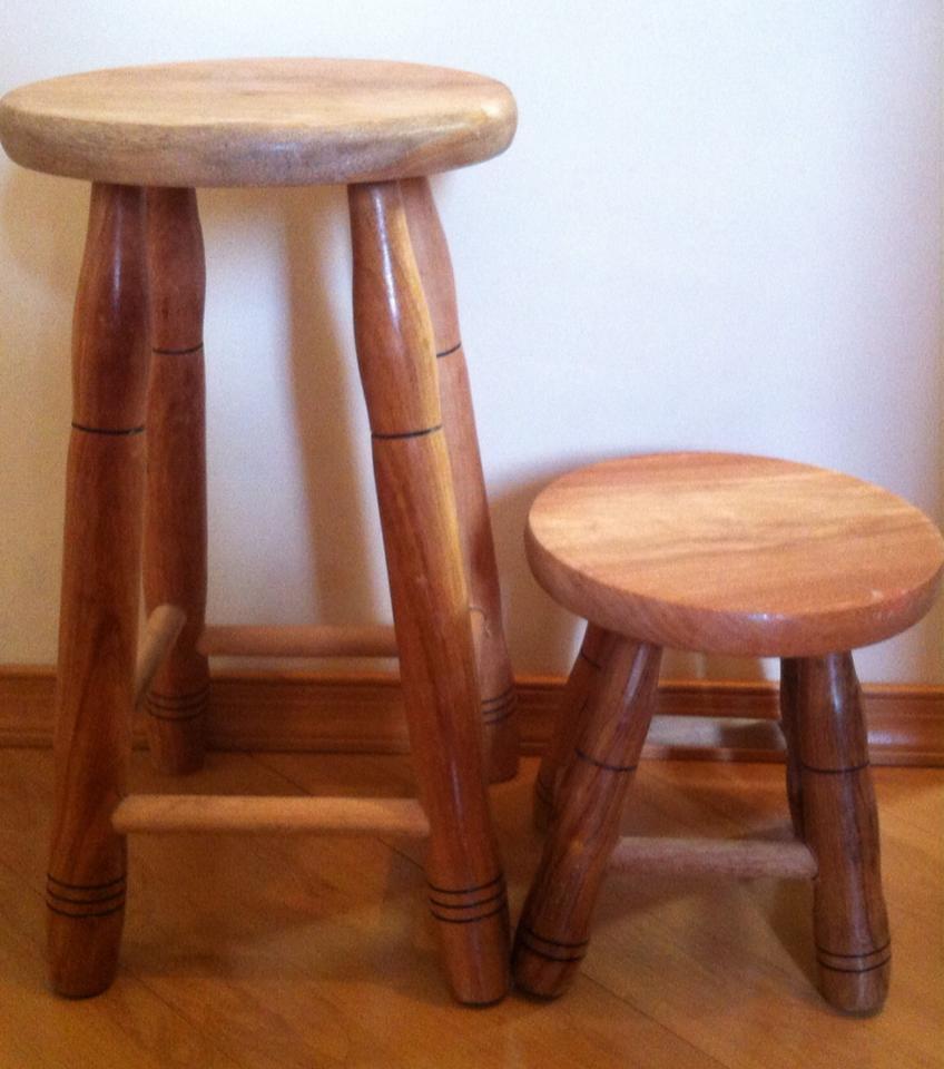 Cadeira para observação. Banco-de-madeira-medio-banco-de-madeira