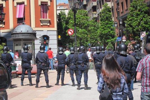 Un grupo de la UIP en Canarias se desplaza a Madrid para ayudar en la seguridad Fotonoticia_20121023112420_500