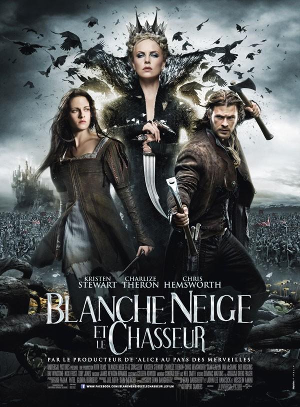 Blanche Neige et le Chasseur (avec Kirsten Stewart,Charlize Theron,Chris Hemsworth...) Blanche-neige-et-le-chasseur-affiche-4f8e6b4746494