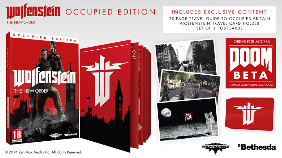 Wolfenstein : The New Order - édition occupied (collector) WolfensteinOD
