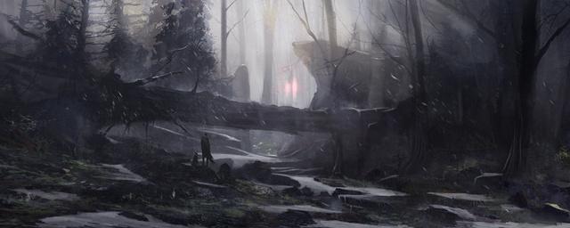 Floresta de gelo Ku-xlarge