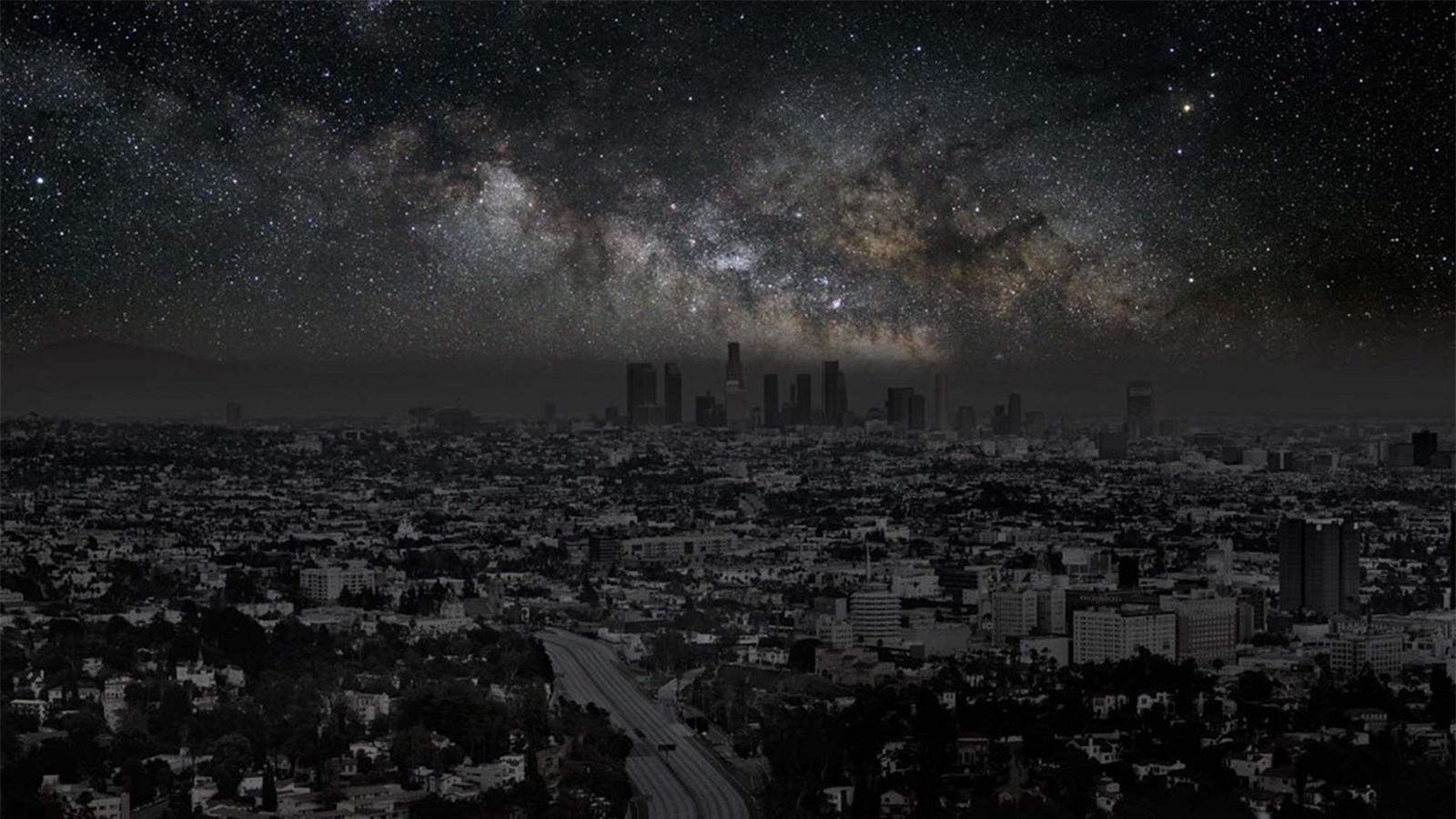 Las ciudades del mundo sin contaminación lumínica Original