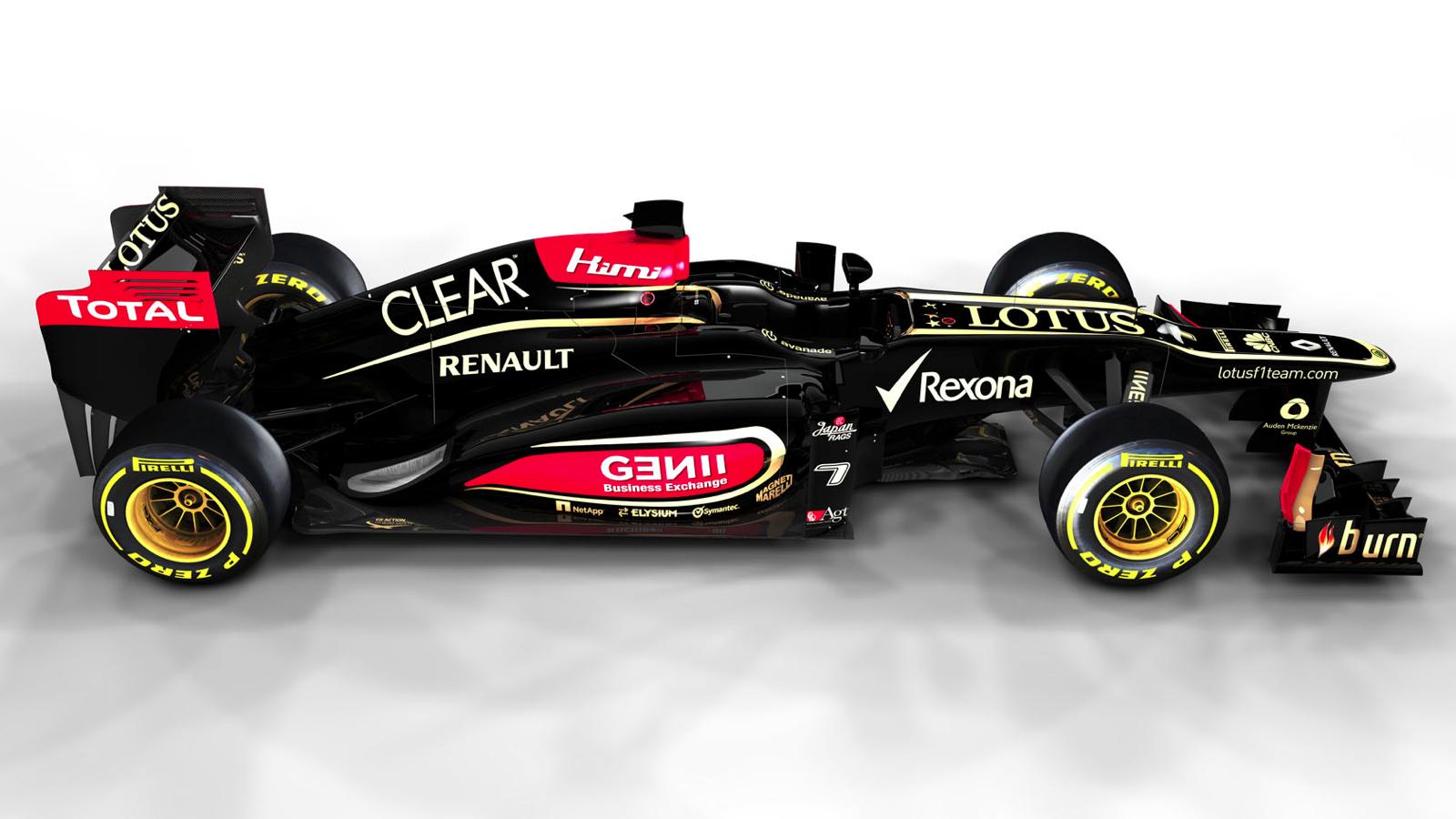 Lotus F.1 E21 2013 già pronta Original