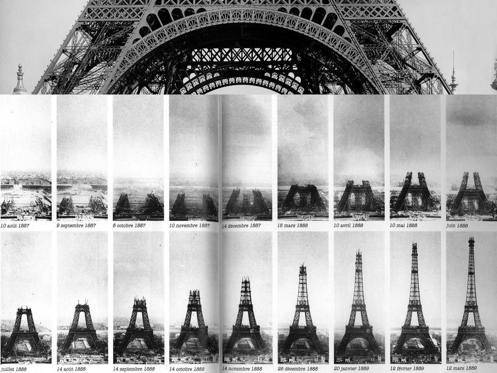 Grandes estructuras históricas en construcción Original