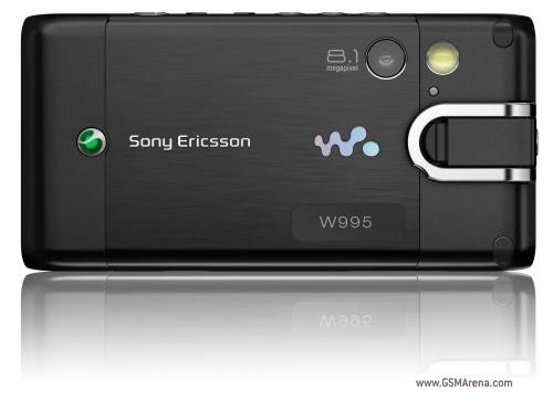 sony ericson hp show Se-w995-002