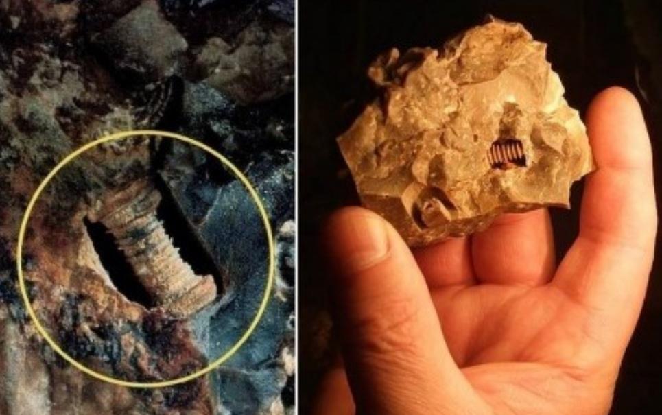 Pesquisadores afirmam ter encontrado parafuso de 300 milhões de anos Superimagem-megacurioso-57145035500494899