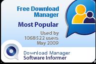 برنامج مدير تحميل الملفات المجانى النسخة الكاملة Free Download Manager Full Version Most_popular_download_manager_May_2009_49