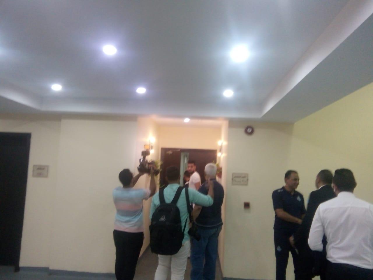 الشناوي يساند بيراميدز وأفشة يزور غرفة إنبي 58099-WhatsApp-Image-2018-08-03-at-8.12.10-PM