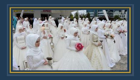 صور حفل زفاف جماعى فى الشيشان بمناسبة الذكرى الـ 200 لتأسيس جروزنى 502945