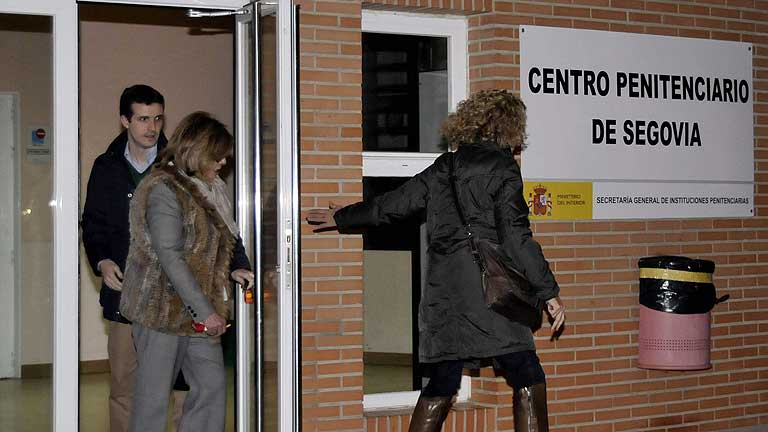 Carromero ya recibe visitas en la cárcel de Segovia