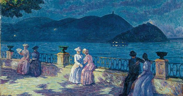 El Museo Thyssen reivindica al pintor Dario de Regoyos 1392376199871