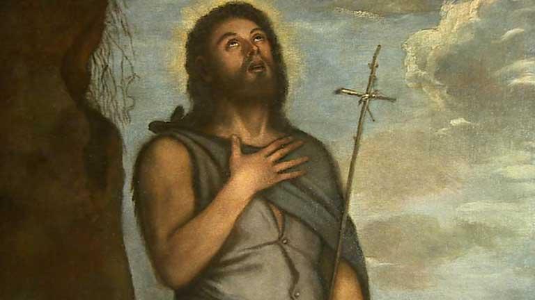 El trabajo de los restauradores del Prado ha permitido descubrir un San Juan Bautista de Tiziano