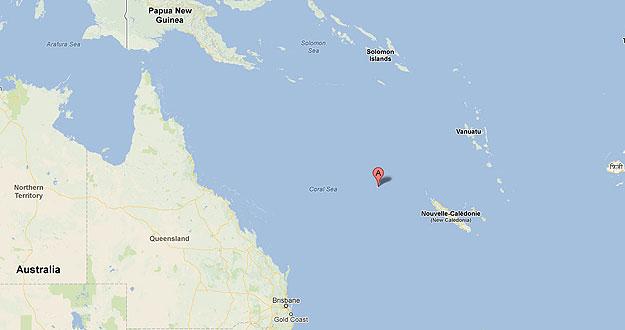 Sandy, la isla que solo existe en Google Earth 1353667608537