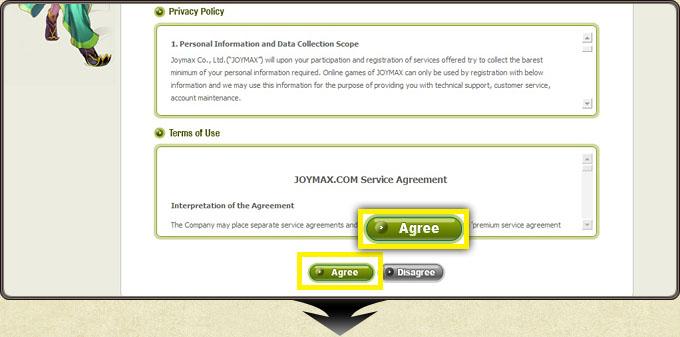 تحميل لعبة سيلك رود اونلاين Silkroad Online Client مجاناً Registration_how4_6