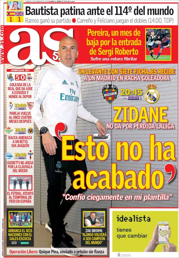 """Zidane: """"No hay que cambiar nada"""" - Página 2 As.750"""