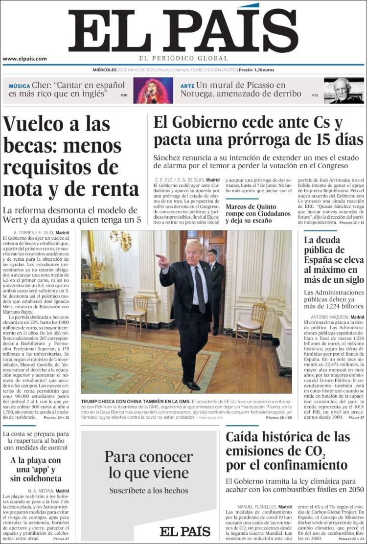 Diario el Pais 20-5-2020 Elpais.750