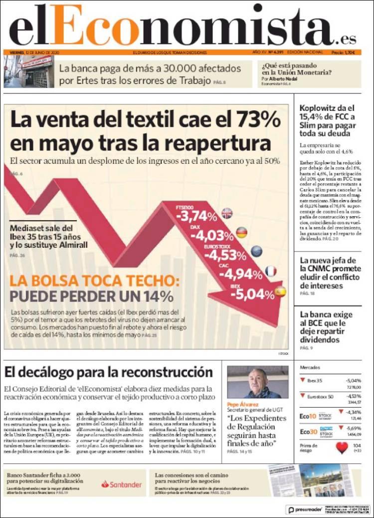 DIARIO EL ECONOMISTA 12-6-2020 Eleconomista.750