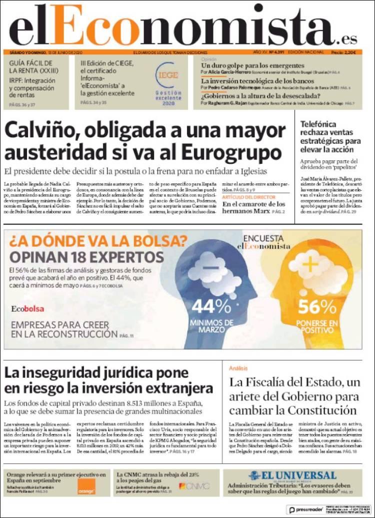 DIARIO EL ECONOMISTA 13-6-2020 Eleconomista.750