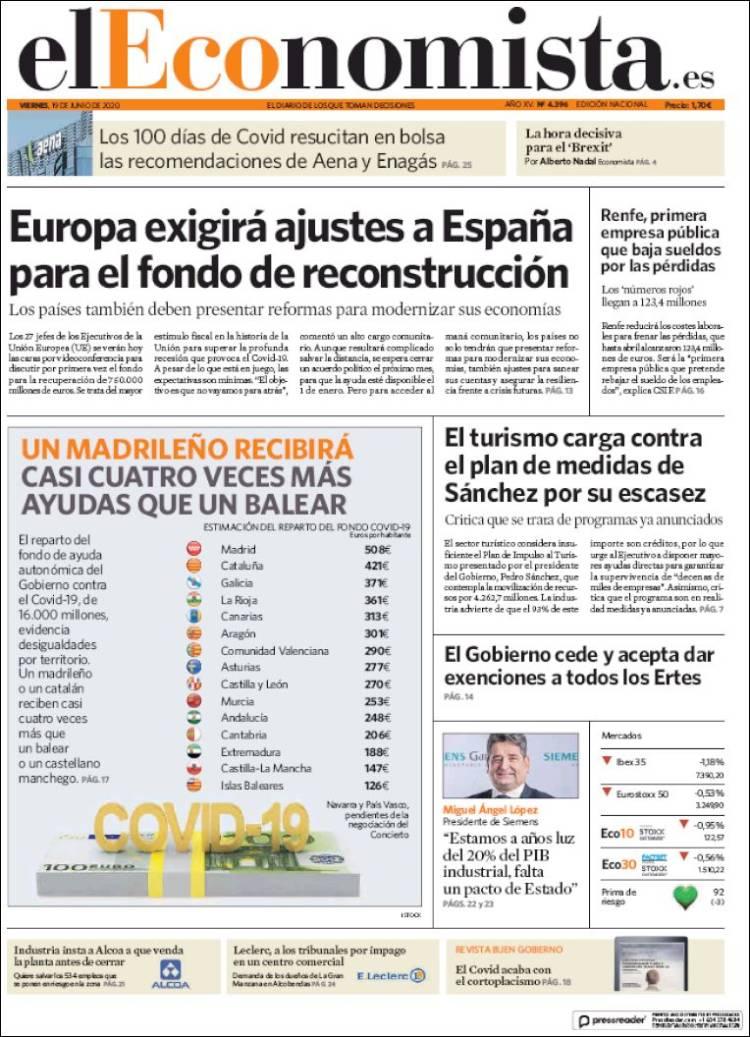 DIARIO EL ECONOMISTA 19-6-2020 Eleconomista.750