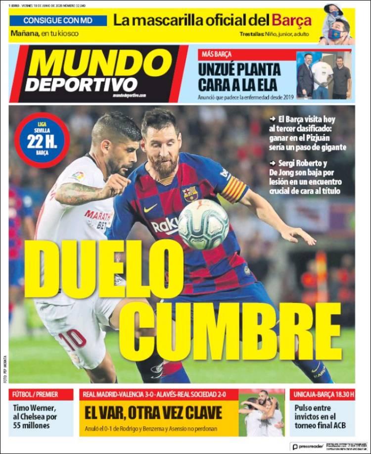 DIARIO MUNDO DEPORTIVO 19-6-2020 Mundodeportivo.750