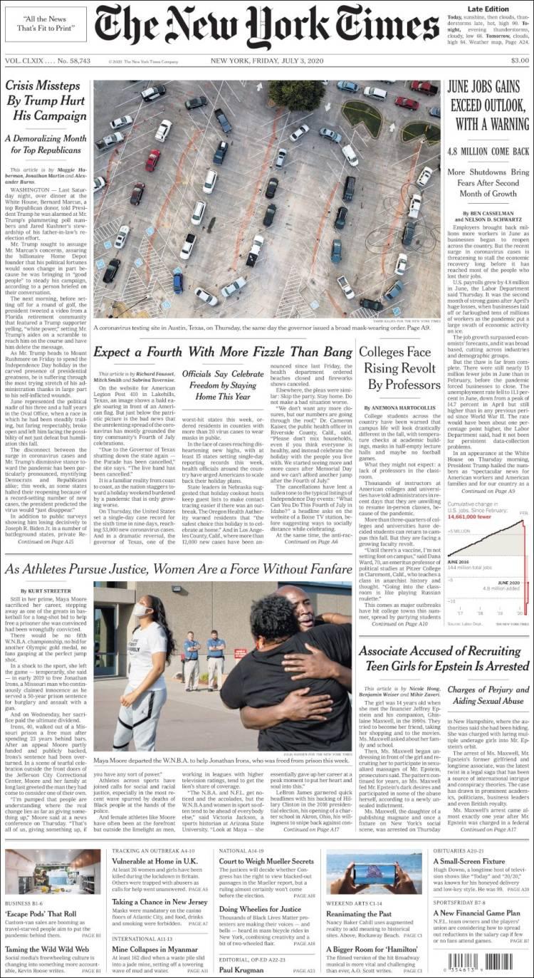The New York Times 3 -7- 2020 Newyork_times.750