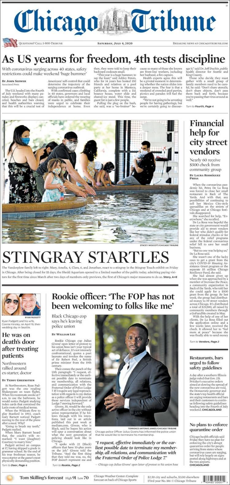 Chicago Tribune 4-7-20200 Chicago_tribune.750