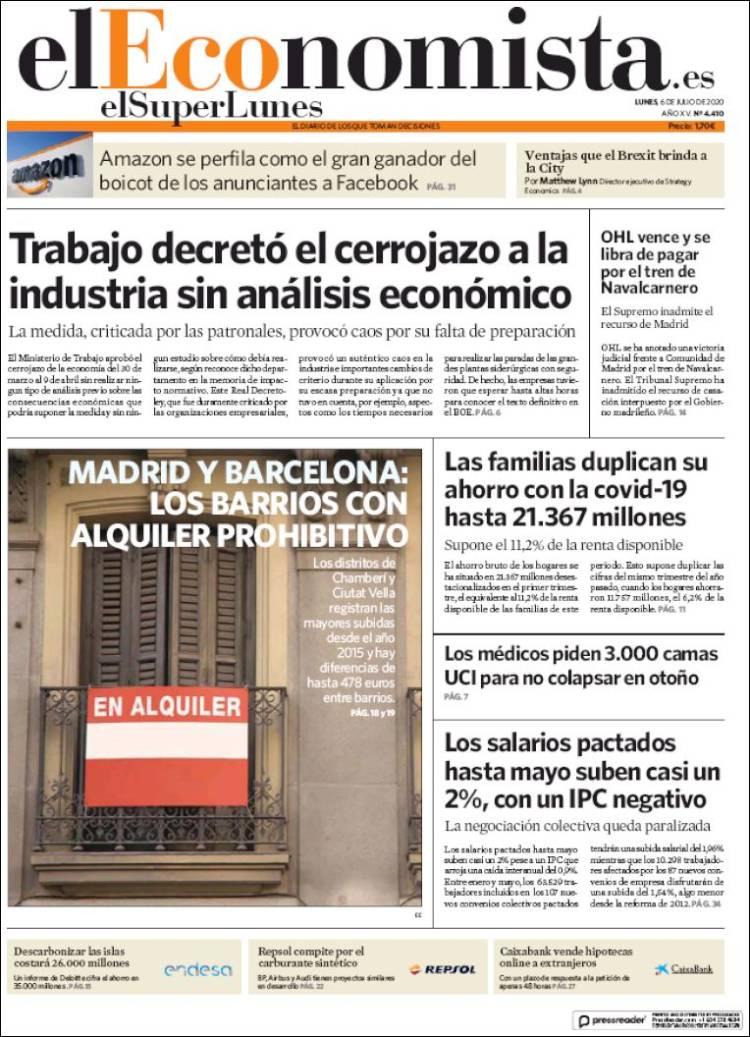 DIARIO EL ECONOMISTA 6-7-2020 Eleconomista.750