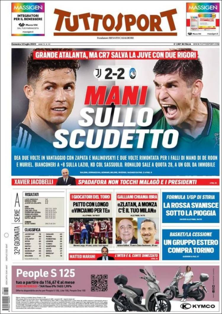 TUTTO SPORT 12-7-2020 Tuttosport.750